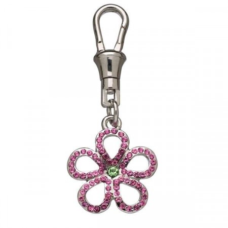 Charms Pink Flower